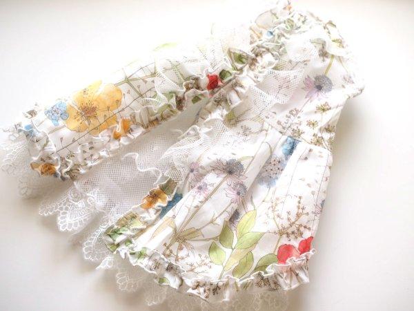 画像1: シックお花&レースワンピース (1)