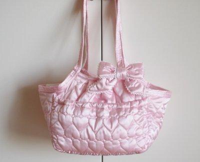画像3: キャリーバッグG サテンハート Pink