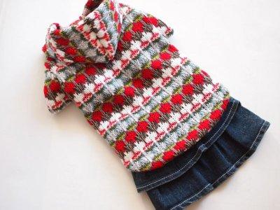 画像3: ざっくり手編み風パーカー