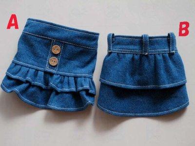 画像3: ブルーデニムスカート