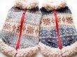 画像1: SNOW柄ジャガードセーター (1)
