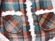 画像5: ウール mixネップ マドラスチェックボアコート (5)