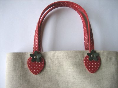 画像3: いちごバッグ