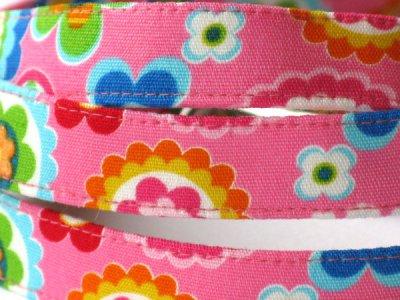 画像1: カラー・リード Kiraお花 ピンク